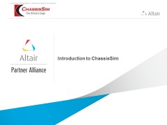 Introduction to ChassisSim