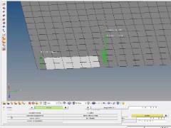 HyperMesh基本操作動画 #15 荷重を補間して設定