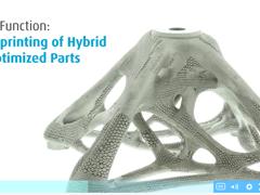 ラティス構造を有する金属部品の3Dプリンティング