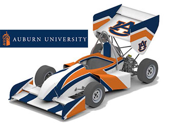 Auburn University、フォーミュラSAE車両の複合材シャーシとモノコックのデザイン最適化にHyperWorksを適用