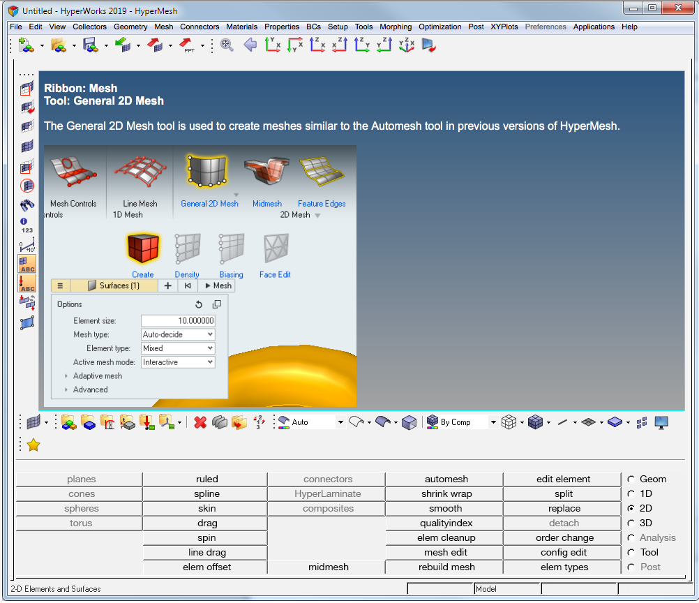 HyperWorks Next Generation – Tools Finder