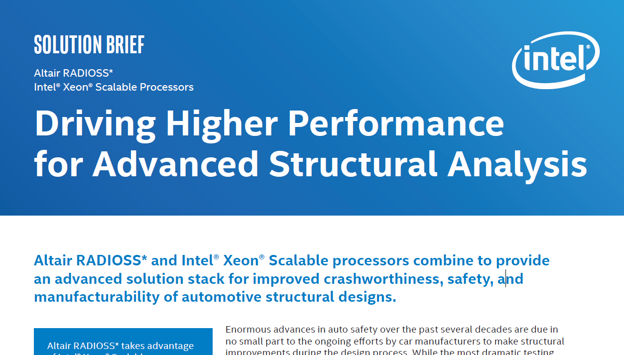 Driving Higher Performance for Advanced Structural Analysis