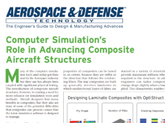Computer Simulation's Role in Advancing Composite Aircraft Structures