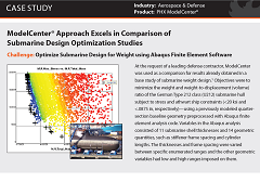 Case Study: ModelCenter® Approach Excels in Comparison of Submarine Design Optimization Studies