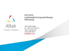 Lightweight Design (Composites) - Americas ATC 2015 Workshop