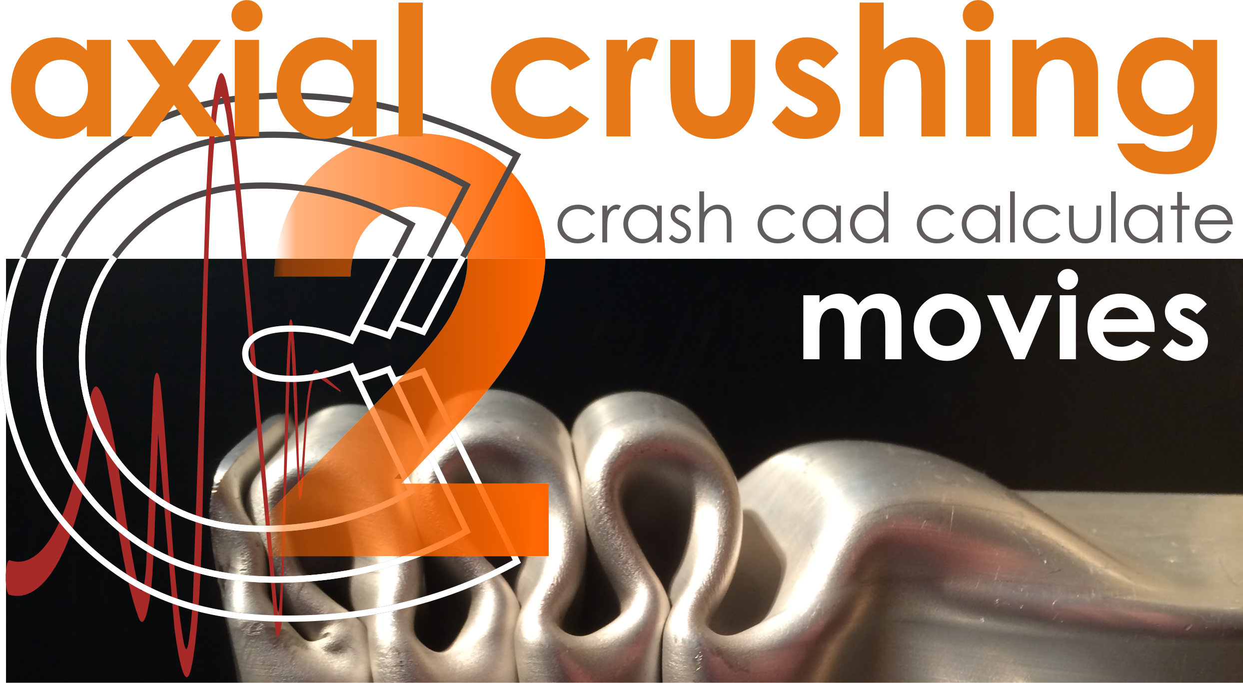 Crash Cad Calculate for Axial Crushing