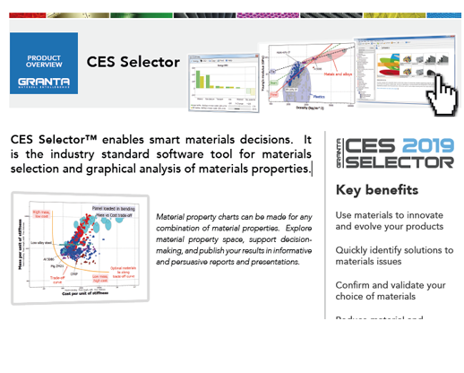 CES Selector Product Overview