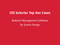 Top Use Cases: CES Selector