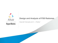 Design and Analysis of FSS Radomes