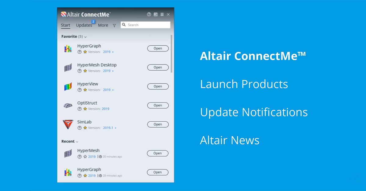 Altair ConnectMe™ 2019