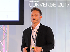 "Converge 2017: Stefan de Groot ""A Tooling Revolution for Plastic Injection Molding - with Additive Manufacturing..."""