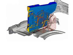 Designing Composite Components for Tomorrow's Multi-Material Vehicles Simulating Composites