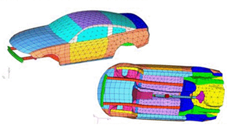Energy Finite Element Analysis by MES used to Control Interior Automotive Noise
