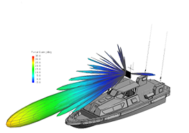Altair FEKO for Marine EMC Applications