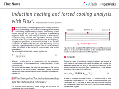 Induction Heating and Forced Cooling Analysis with Flux®