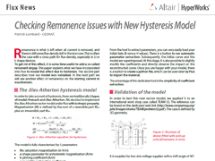 Checking Remanence Issues with New Hysteresis Model