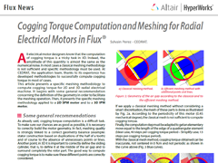 Cogging Torque Computation and Meshing for Radial Electrical Motors in Flux®
