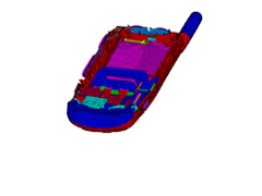 Tailoring CAE Modeling Processes to Reduce Cell Phone Development Time