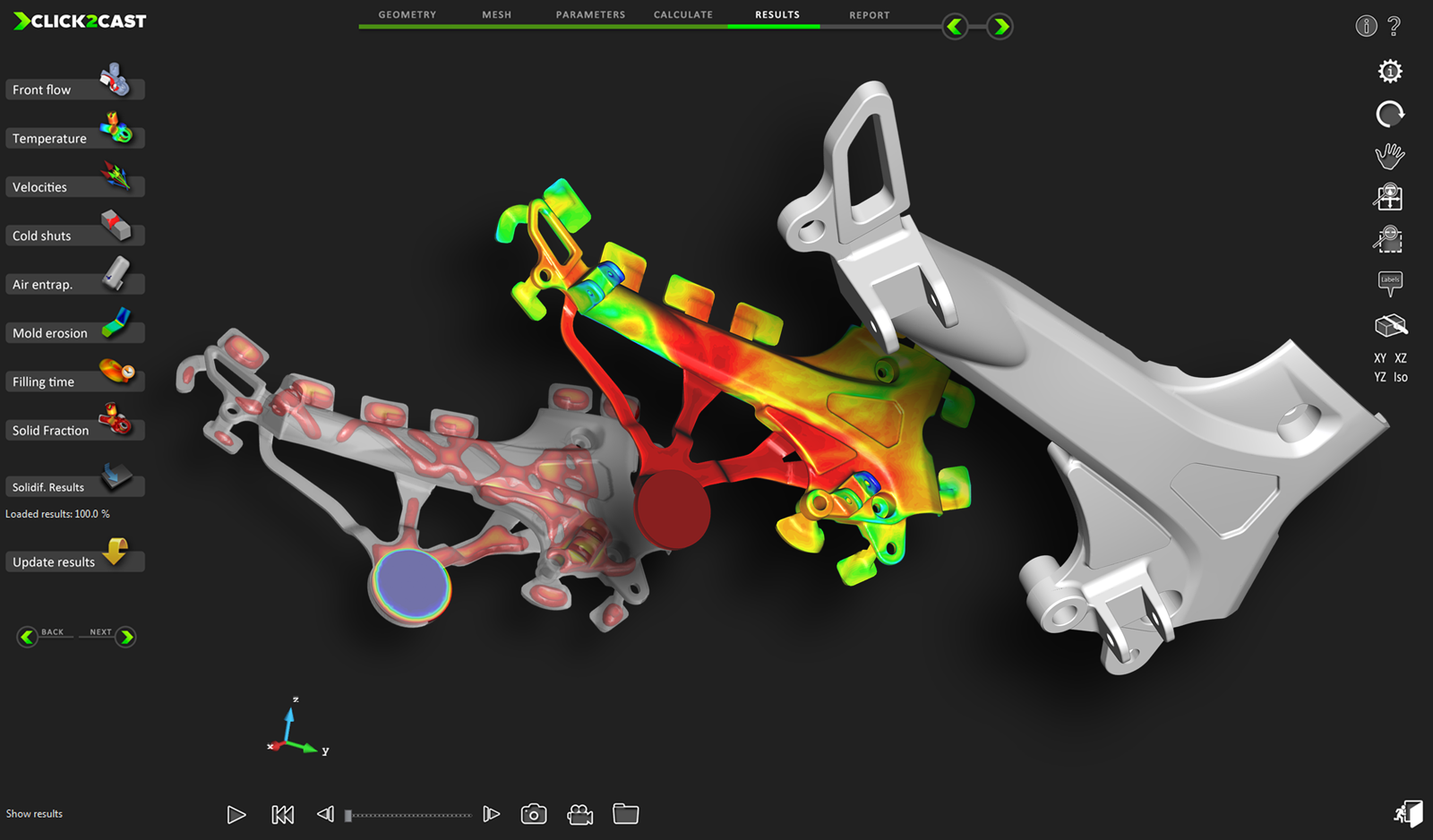 Altair HyperWorks | Altair Solutions for Casting Simulation