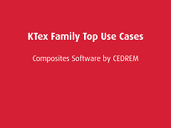 Top Use Cases: KTex Family