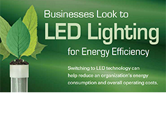 Businesses Look to LED Lighting for Energy Efficiency