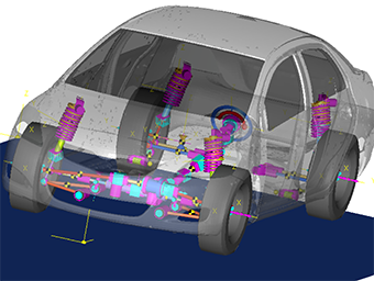Automotive Product Development: Altair's Multibody Solutions