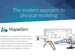 MapleSim 2016 Datasheet