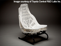 Materialise Slicing Technology Enables Toyota's Lightweight Car Seat