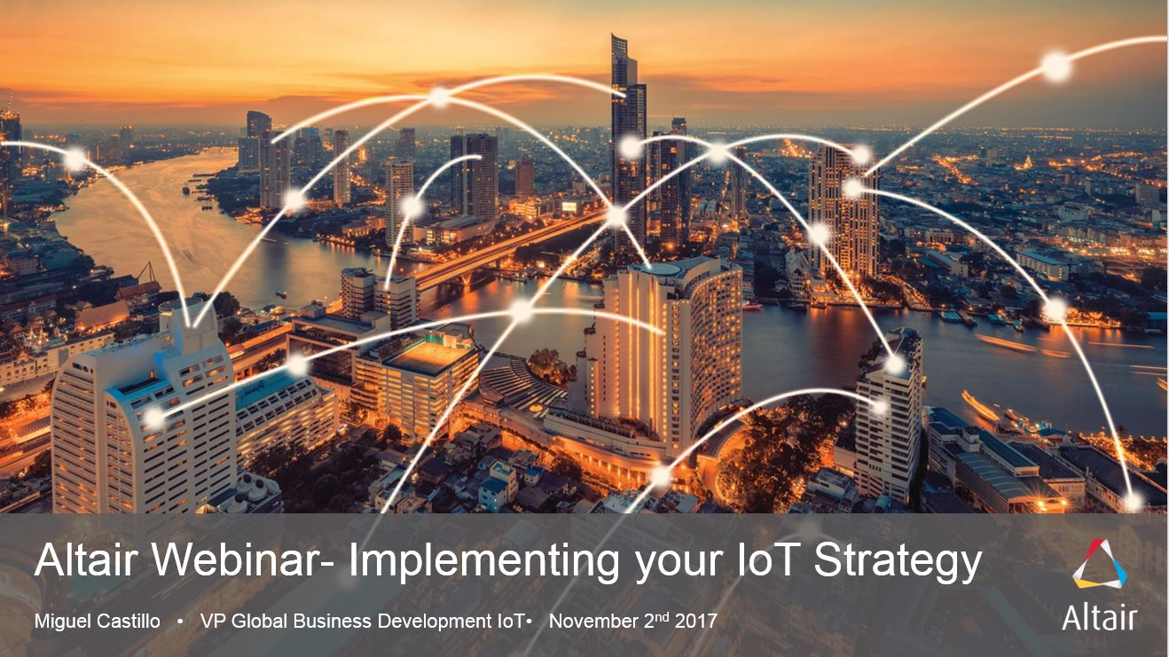 Webinar: Implementing your IoT Strategy