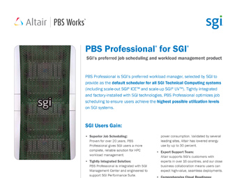 PBS Professional for SGI Users