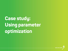 Case Study: Using Parameter Optimization