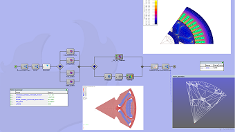 State of the Art Process Integration Simplifies Multidisciplinary Modeling of  an Electric Motor for an Automobile
