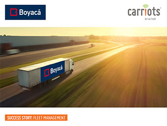 Carriots optimizes fleet management at Boyaca