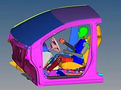 HyperWorks for Crash: Model Preparation and Evaluation
