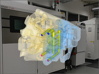 More Efficient and Economic Injection Mold Tools thanks to Topology Optimization, CFD Simulation and 3D Printing