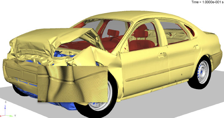 Assuring Scalability: Altair Radioss™ Delivers Robust Results Quickly for Crash-Safe Vehicle Designs