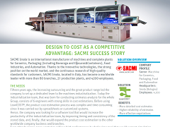 Case Study: SACMI Imola - Design to Cost with LeanCOST® as a Competitive Advantage