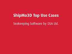 Top Use Cases: ShipMo3D