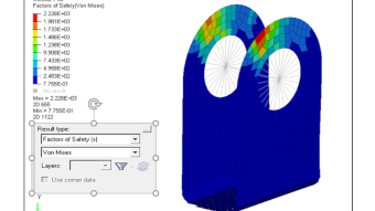 Altair OptiStruct – Failure response for topology optimization