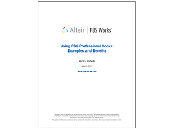 Using PBS Professional Hooks: Examples and Benefits