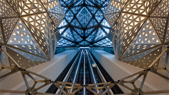 Developing a Diamond-shaped, Triangles Studded Pavilion for the Morpheus Hotel in the City of Dreams