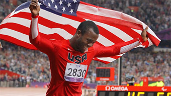 Supporting Blake Leeper's Road to the 2016 Rio Olympic Games