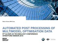 UK ATC 2015: Automated Post Processing of Multimodel Optimisation Data