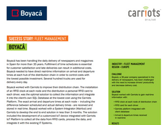 Boyacá - Fleet Management