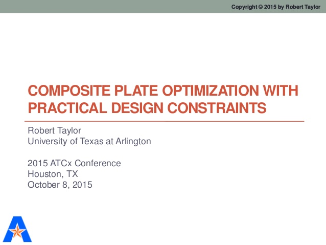 Composite Plate Optimization with Practical Design Constraints