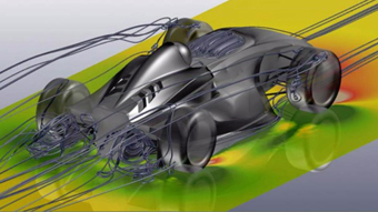 eBook: Learn External Aerodynamics with Virtual Wind Tunnel