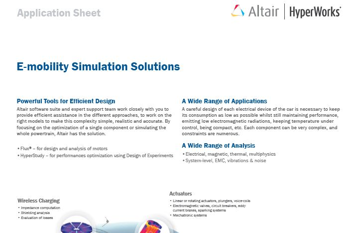 E-mobility Simulation Solutions