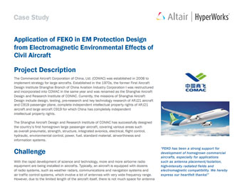 Application of FEKO in EM Protection Design for Electromagnetic Effects of Civil Aircraft