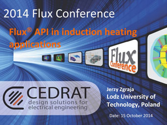 Flux API in Induction Heating Applications