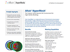 HyperMesh 13.0 Brochure